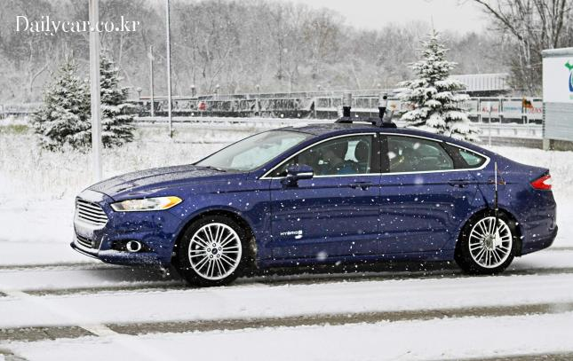 ford self driving in snow 출처=wired