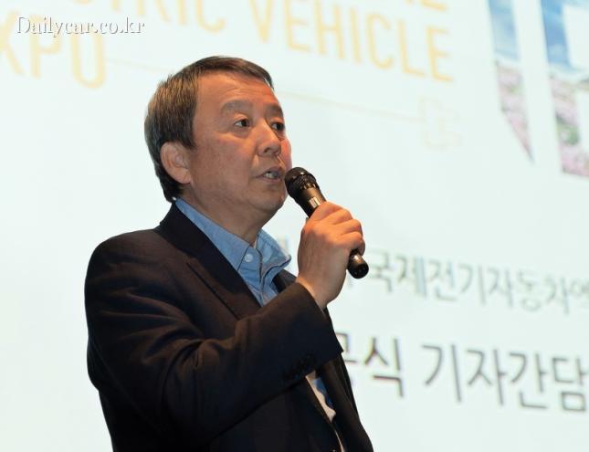 김대환 국제 전기차 엑스포 조직위원장
