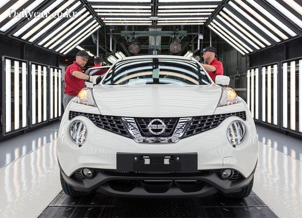 Nissan Sunderland Plant Juke 출처=Telegraph