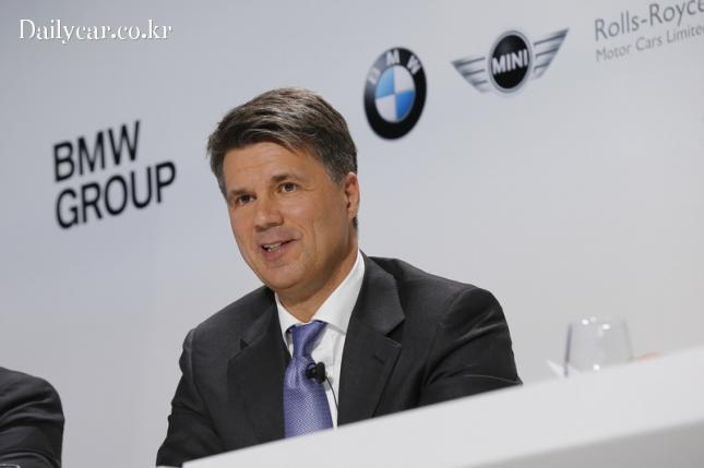 하랄드 크루거 BMW그룹 회장(@BMW그룹 100주년 기자간담회)