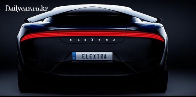 엘렉스트라, 신형 EV 수퍼 세단