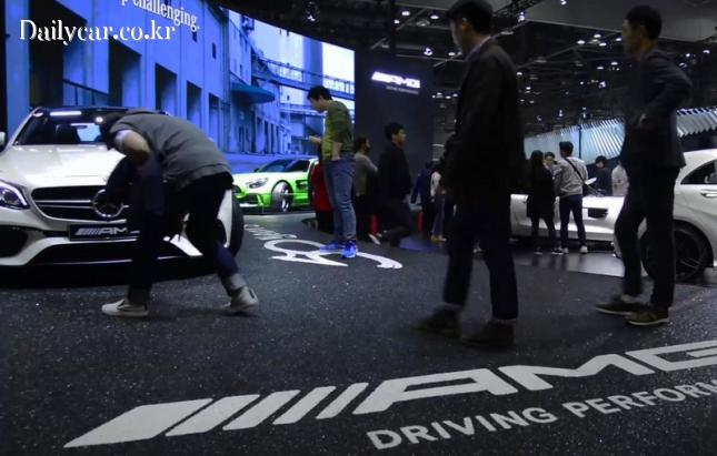 2017 서울모터쇼 메르세데스-AMG GT R