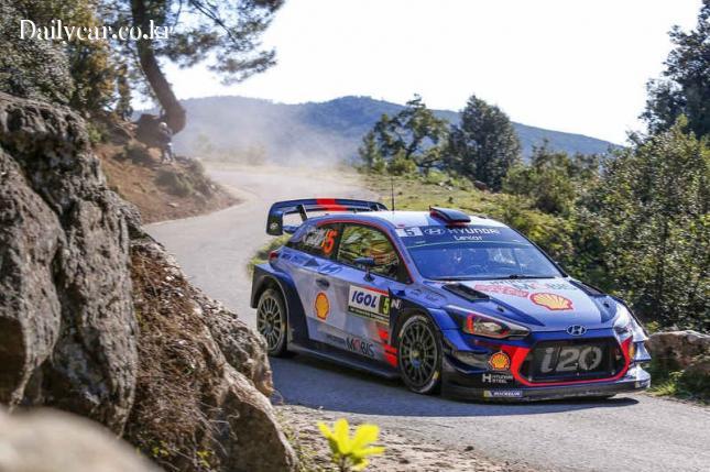 현대차 i20 WRC 랠리카