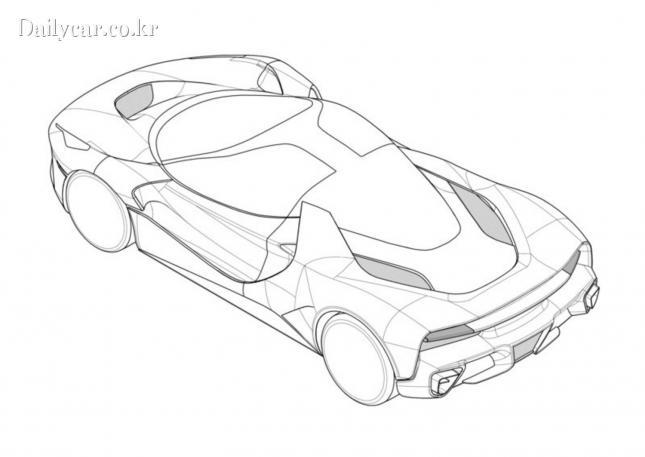페라리 특허 이미지 (VW Vortex 포럼)