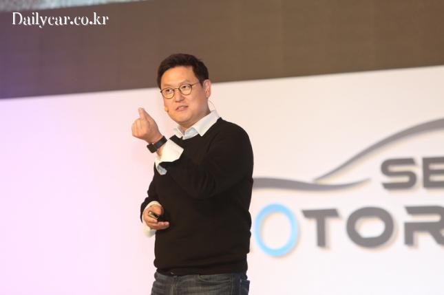 데니스 홍 UCLA 교수 (@서울모터쇼 국제컨퍼런스)