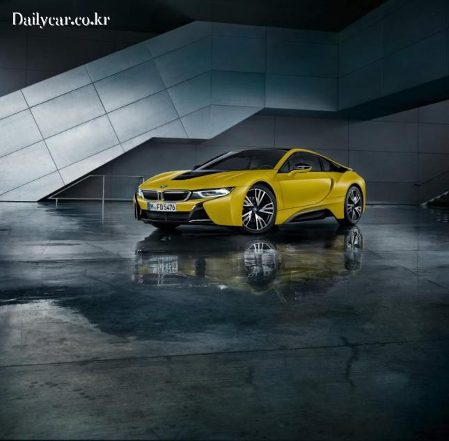BMW, i8 프로토닉 프로즌 옐로우 에디션
