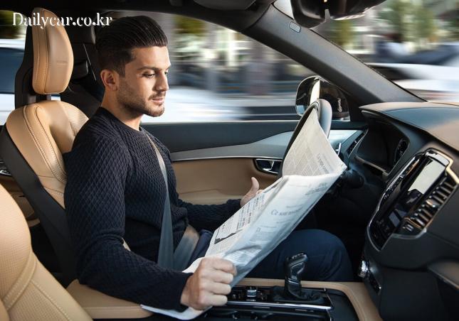 volvo autonomous driving 출처=volvo