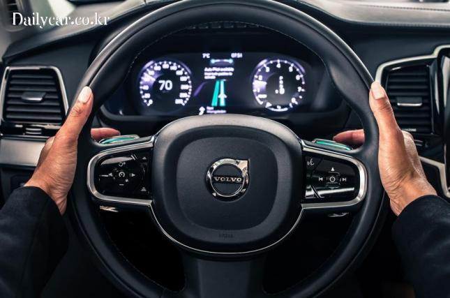 volvo autonomous driving 출처=autocar