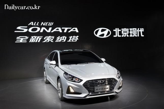 현대차, 중국형 올 뉴 쏘나타(@2017 상하이모터쇼)