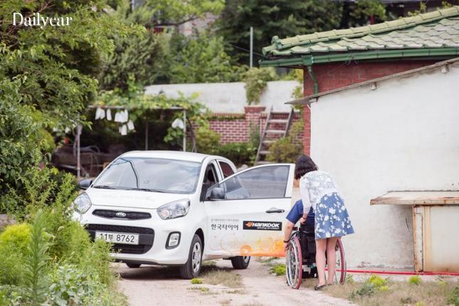 한국타이어, 2015 차량 나눔 선정 기관 경기 북부 장애인 가족지원센터