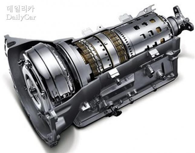 현대차, LF쏘나타 하이브리드 6단 변속기