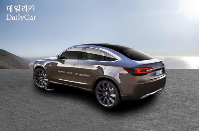 테슬라, 모델 Y 예상 렌더링(RM Car Design)