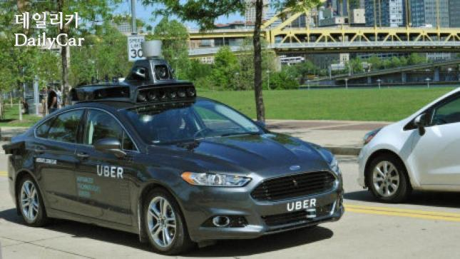 uber self-driving car in Pittsburgh 출처=the star
