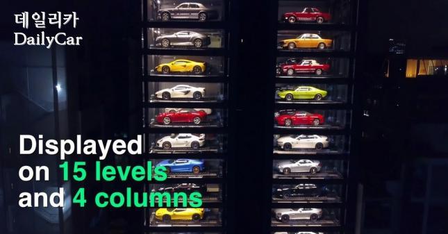 오토반 모터스, 차량 자판기 타워