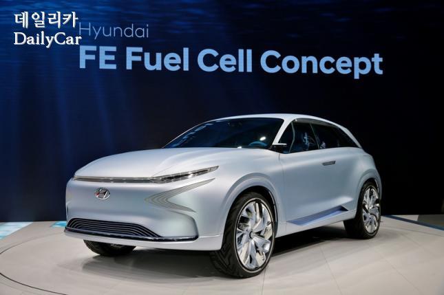 현대차, FE 수소전기차 콘셉트(@2017 제네바모터쇼)