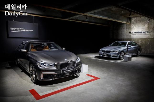 BMW M760Li xDrive(좌), 5시리즈 딩골핑 에디션(우)