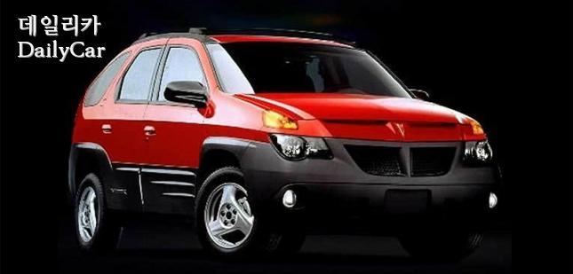 폰티악 아즈텍 (진기한 기록을 지녔었던 소형 SUV)