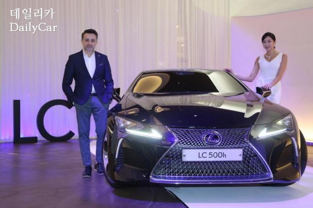 Lexus LC500h&스피로스 포티노스 렉서스 글로벌 매니저
