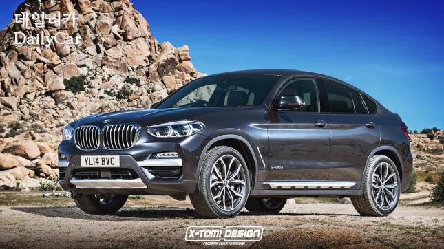 BMW,신형 X4 예상 렌더링 (출처 X-토미 디자인)