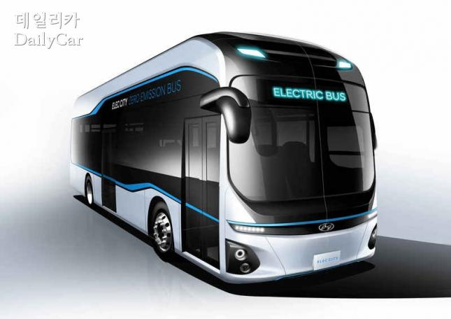 현대차, 전기버스 일렉시티