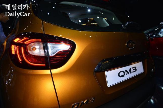 르노삼성 뉴 QM3 리어램프
