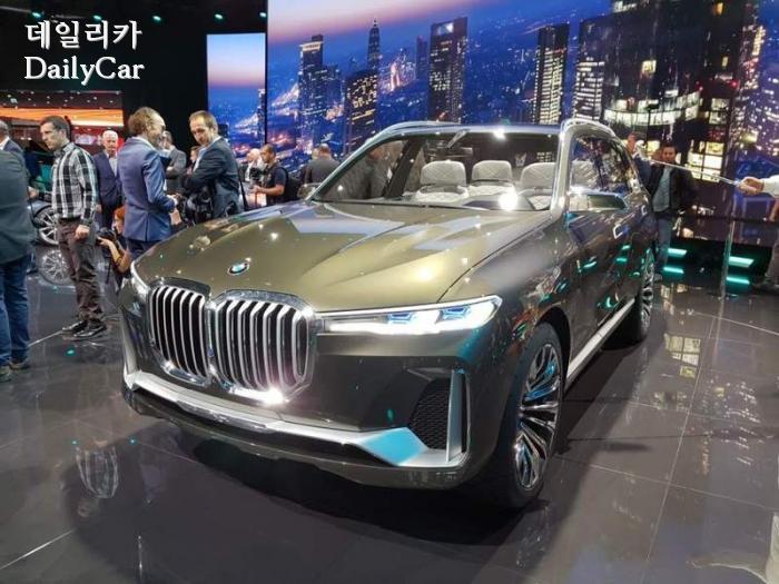 BMW X7 i퍼포먼스 콘셉트(@2017 프랑크푸르트 모터쇼)