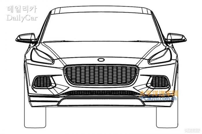 로터스, 신형 SUV 특허 이미지 유출 (출처 PCauto)