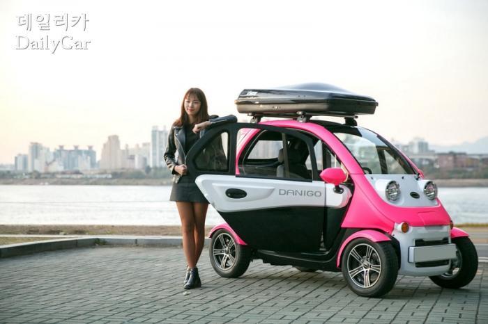 대창모터스, 2인승 초소형 전기차 '다니고'