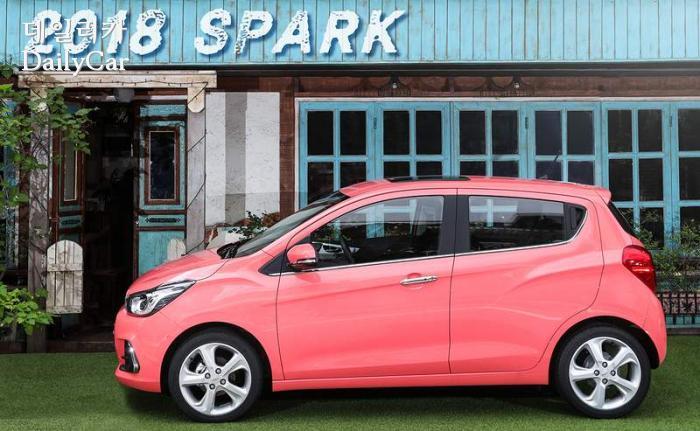 2018 더 넥스트 스파크 코랄 핑크(Coral Pink)