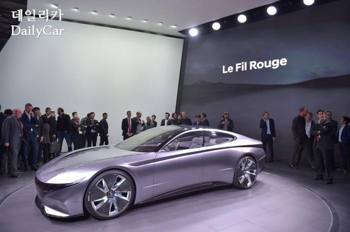 현대차, 르 필 루즈(Le Fil Rouge) 콘셉트 (@2018 제네바모터쇼)