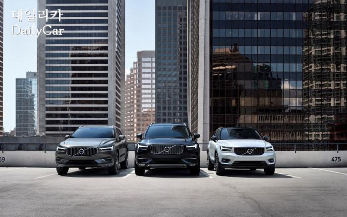 볼보, SUV 라인업(더 뉴 XC60, 올 뉴 XC90, 더 뉴 XC40)