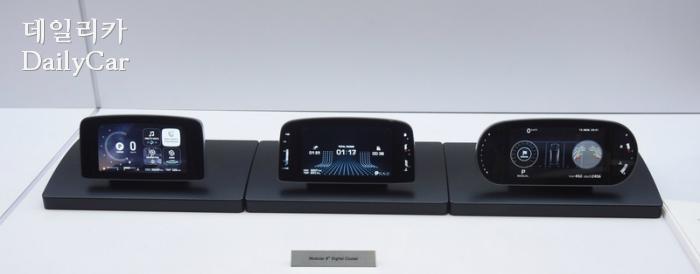 현대모비스, 디지털 클러스터 시제품