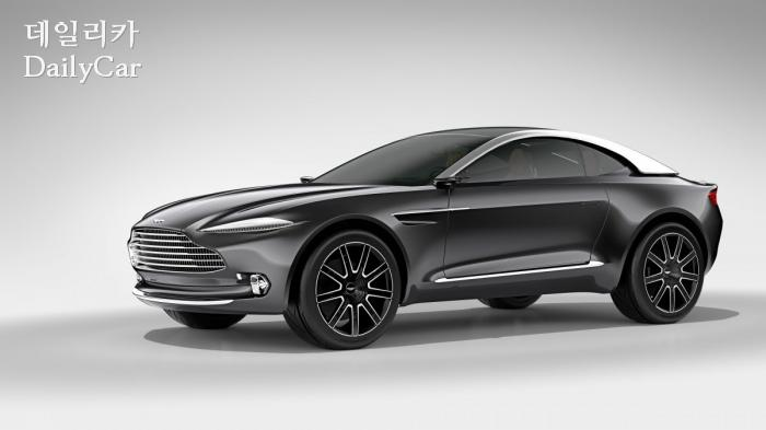 Aston Martin Dbx 콘셉트카 출처=Aston Martin