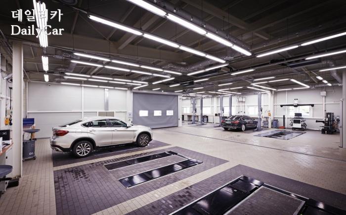 BMW, 대구 패스트레인 서비스센터