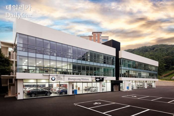 BMW 동성모터스 사직 인증중고차 전시장