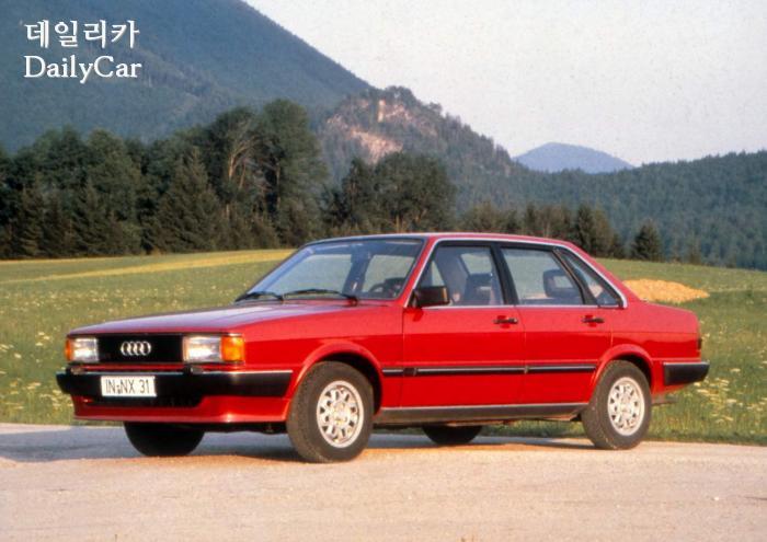 아우디 A4 2세대 (Audi 80 B2)