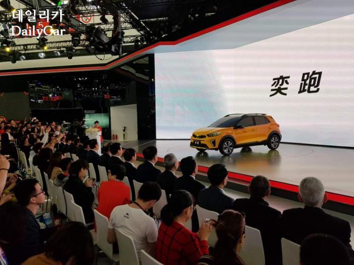 중국 전용 SUV 이파오(Yi Pao, 중국명 奕?) (@2018 베이징모터쇼)