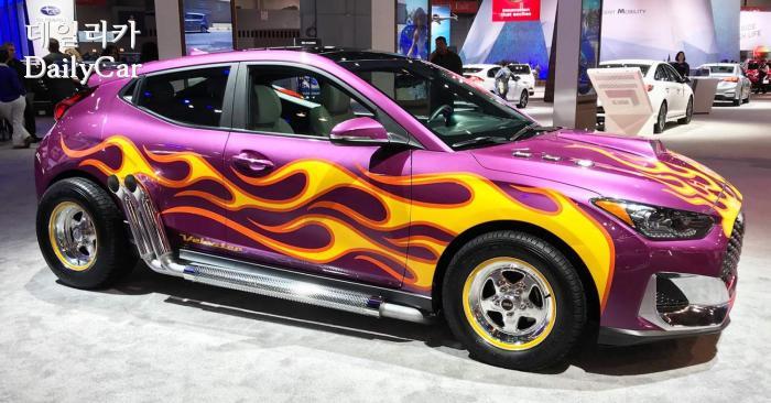 2018년에 앤트맨의 차량으로 등장한 현대 벨로스터