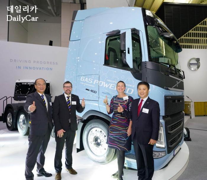 볼보코리아 FH LNG 트럭 공개