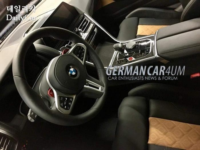 BMW, 신형 M8 이미지 유출 (출처 Germancarforum.com)