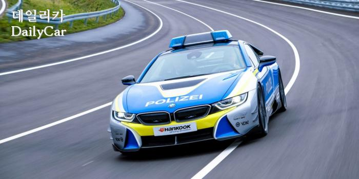 BMW i8 Coupe 경찰차, 벤투스 S1 에보3 장착