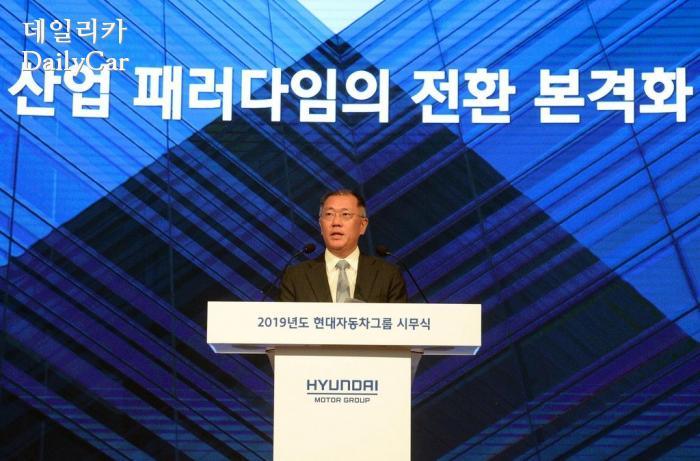 정의선 현대차그룹 총괄 수석 부회장