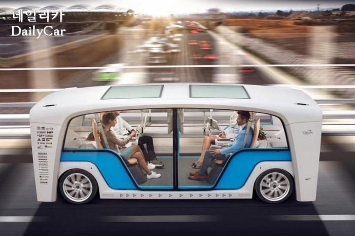 린스피드, 자율주행 마이크로버스 ′스냅(Snap)′