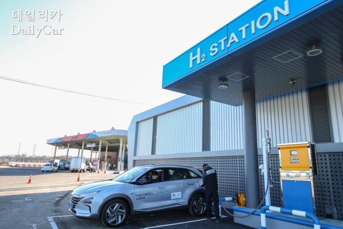 NEXO 수소전기자동차 (여주충전소)