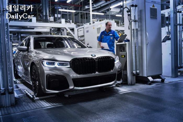 BMW 딩골핑 공장 (신형 7시리즈 생산)