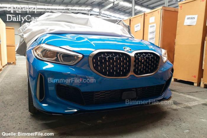 BMW M135i 유출사진 (출처 아우토빌트)