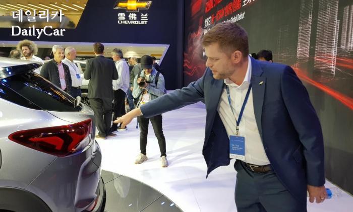 2019 상하이오토쇼 쉐보레 소형 SUV 트레일블레이저 (스튜어트 노리스 전 한국지엠 디자인센터장)