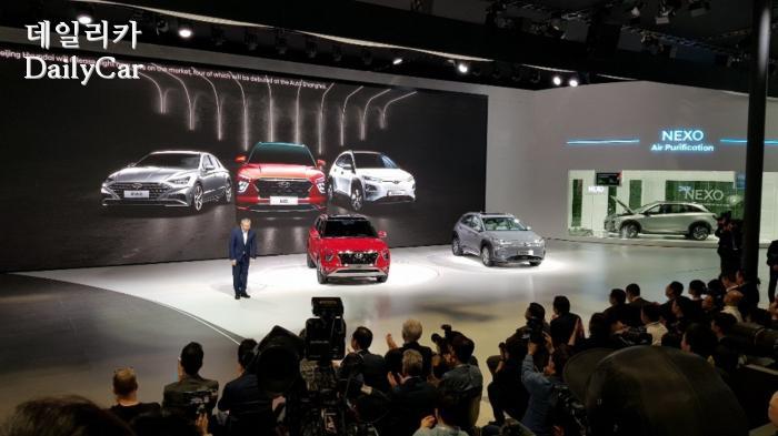 2019 상하이 국제모터쇼 현대차