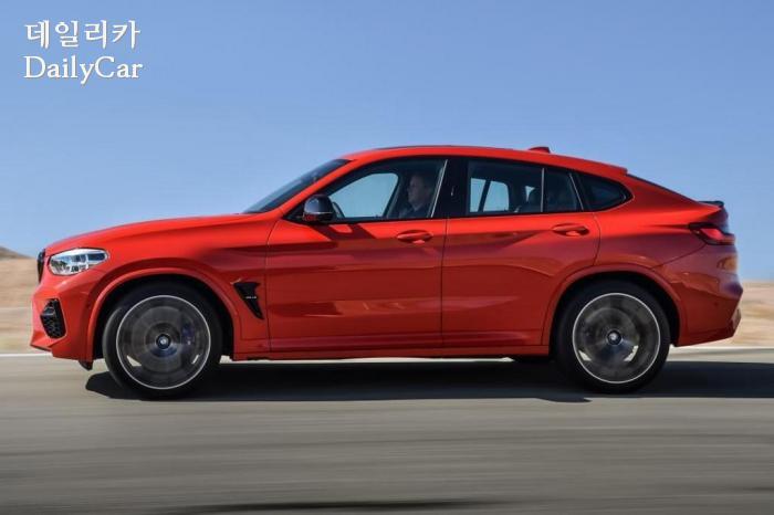 BMW, X4M (출처 BMW)