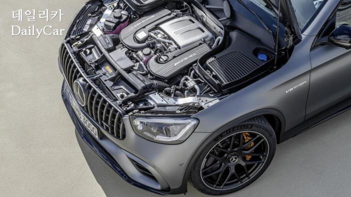 메르세데스-AMG, 2019 GLC 63 쿠페 (출처 BBC TOP GEAR, 메르세데스-AMG)